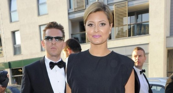 Holly Valance is believed to be pregnant