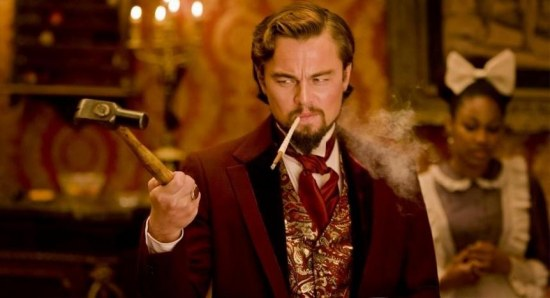Django Unchained is also a violent movie