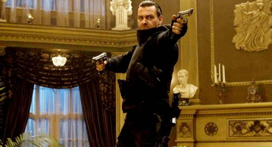 Ray Stevenson doing his acting thing