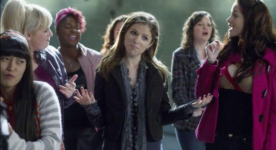 Scene from Pitch Perfect