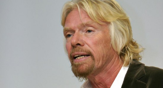 Richard Branson says they were real music shops
