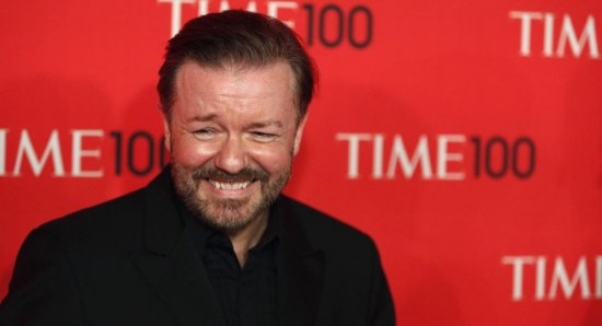 Ricky Gervais at Time 100 event
