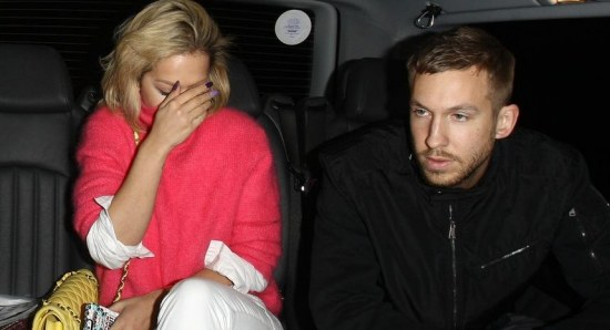 Rita Ora is dating Calvin Harris