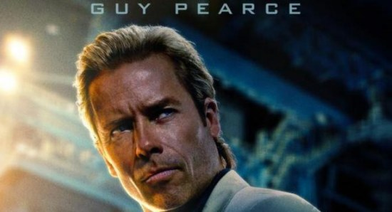 Iron Man 3 poster featuring Guy Pearce