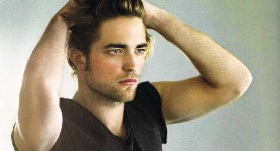 Robert Pattinson looking handsome