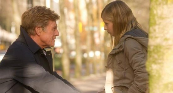 Robert Redford and Brit Marling in The Company You Keep