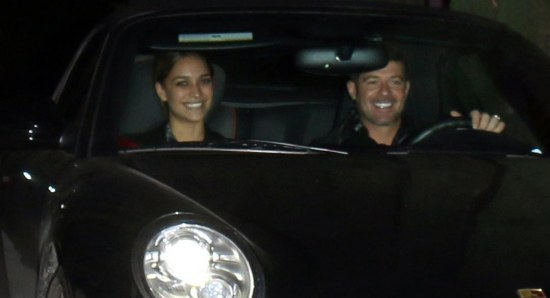 Robin Thicke is now dating April Love Geary