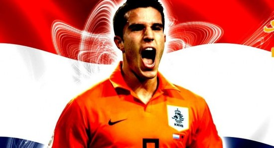 Robin Van Persie is an important star for Holland