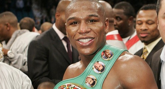 Floyd Mayweather is the boxing king
