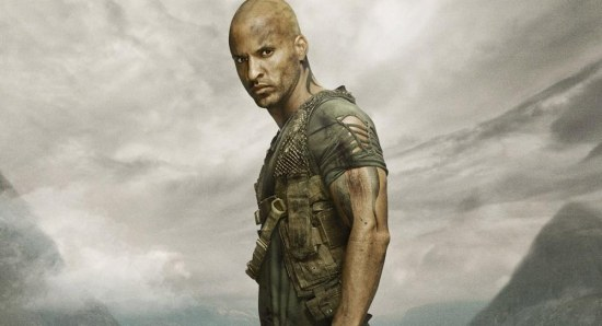 Ricky Whittle stars in The 100