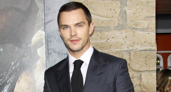 Nicholas Hoult looking dapper in 3-piece suit