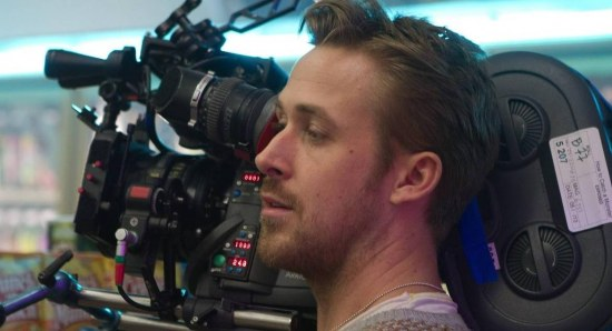 Ryan Gosling doing his directing thing