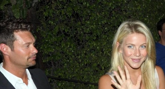 Ryan Seacrest and Julianne Hough broke up in March