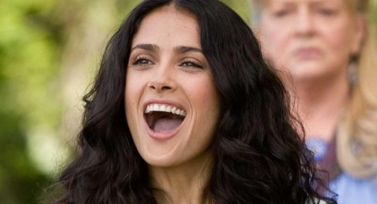 Salma Hayek stars in Grown Ups 2