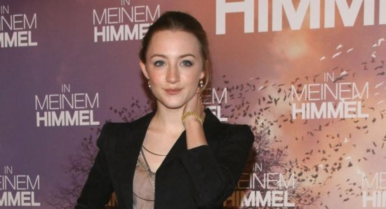 Saoirse Ronan at the international premiere of the Lovely Bones