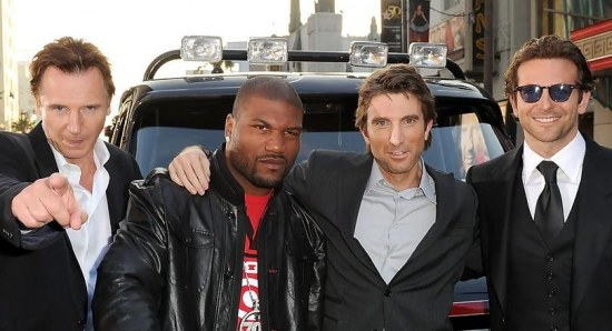 Sharlto Copley during the premiere of The A-Team