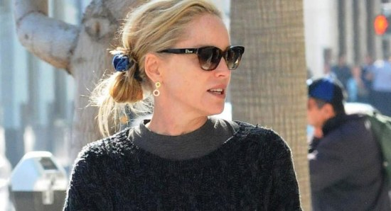 Sharon Stone considered surgery in the past