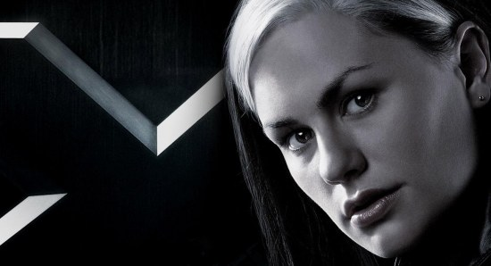 Anna Paquin plays Rogue in the films