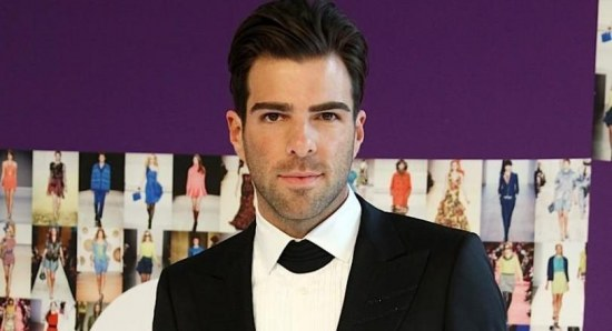 Zachary Quinto is also in the film