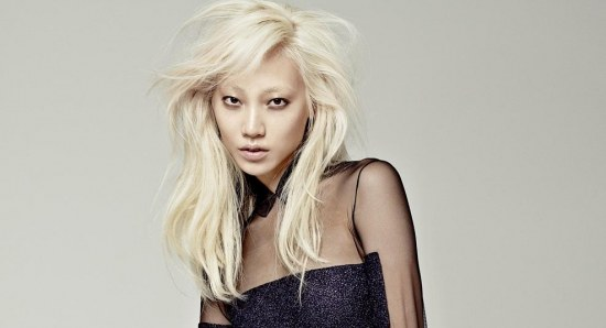 Soo Joo looking sensual and risque