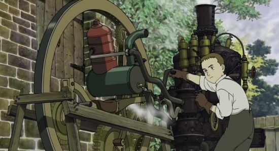 Steamboy could become a live action movie