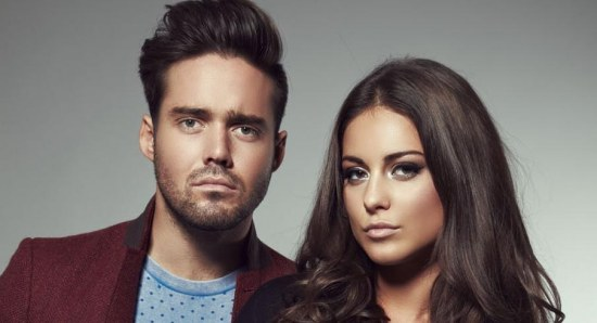 Spencer Matthews with Louise Thompson