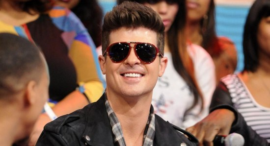 Robin Thicke had a hit with Blurred Lines