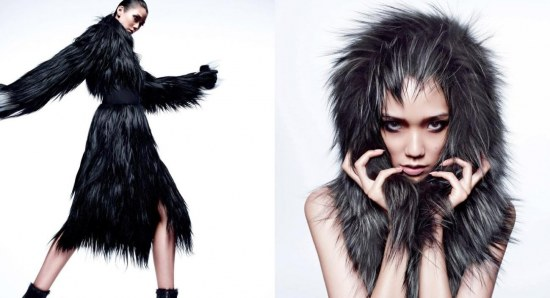 Tao Okamoto is a japanese top model