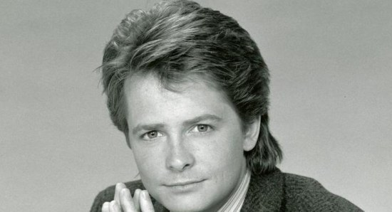 Michael J. Fox when he was younger