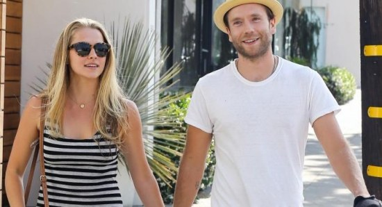 Teresa Palmer and Mark Webber take a stroll