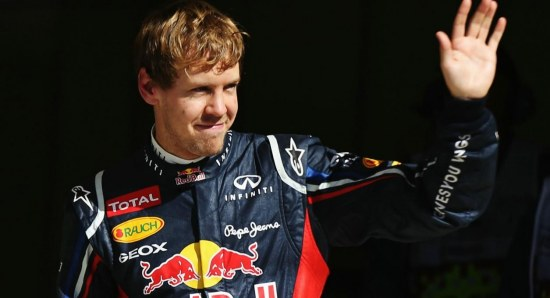Sebastian Vettel is now dominating