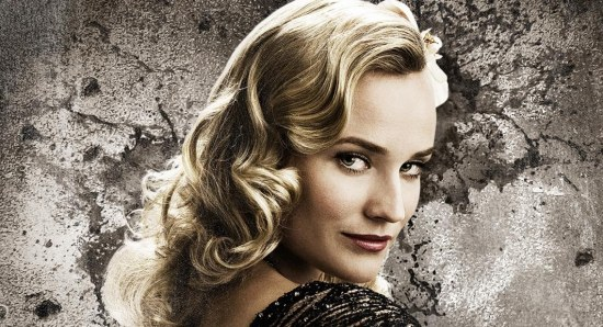Diane Kruger in a poster for 'Inglorious Basterds'