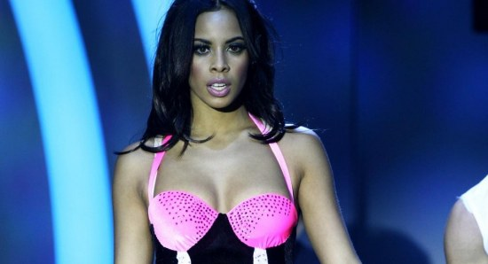 Rochelle Humes looking glamorous