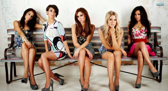 The Saturdays have their first UK number one