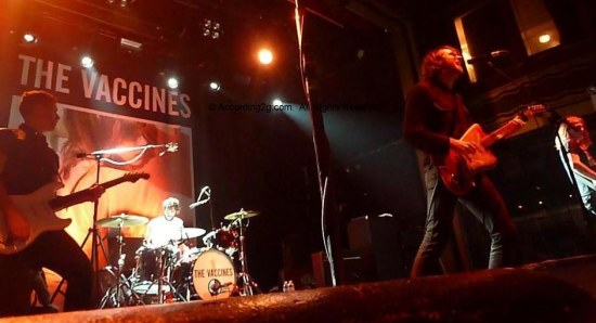 The Vaccines performing live