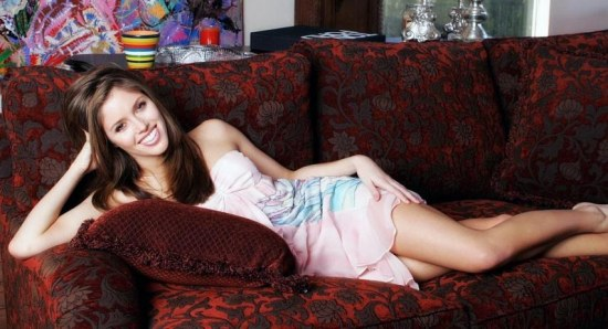 Kayla Ewell chilling out