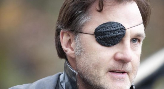 David Morrissey plays The Governor