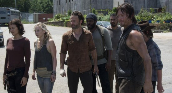 They met on The Walking Dead