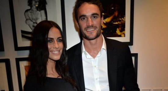 Thom Evans and Jessica Lowndes on a date in London