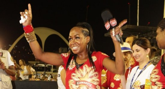 Tichina Arnold having fun