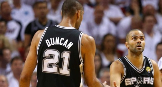 Tim Duncan is a top player