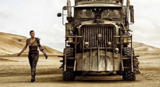 Scene from Mad Max: Fury Road
