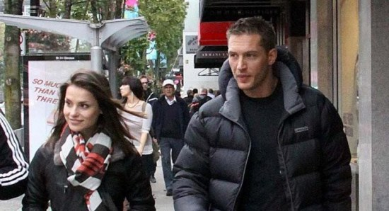 Tom Hardy and Charlotte Riley's engagement is on hold