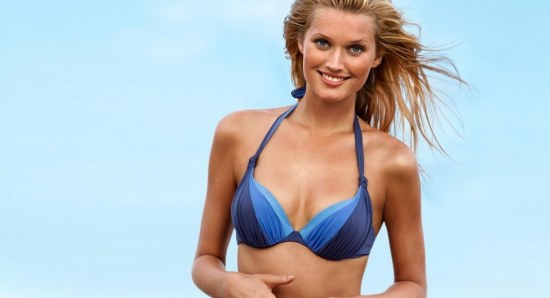 Toni Garrn has made the movie into acting