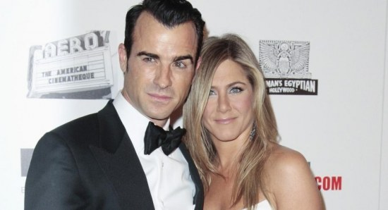 Jennifer Aniston with Justin Theroux