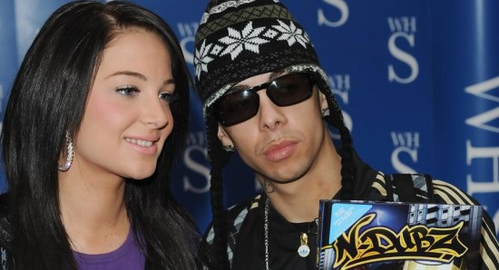 Tulisa Contostavlos with Dappy