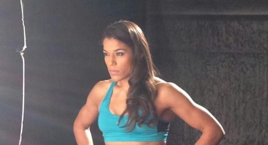 Julianna Pena looking buff and gorgeous