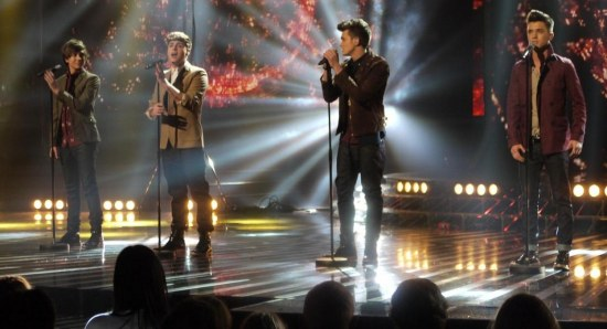 Union J in their X Factor days
