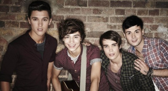 Union J finished fourth in X Factor