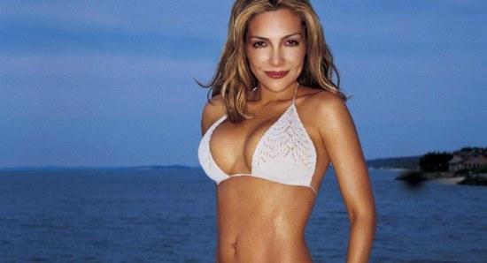Vanessa Marcil is a pin up